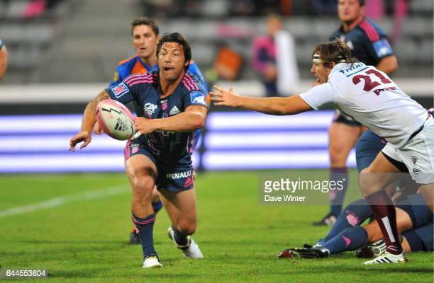 Byron KELLEHER Stade Francais / Begles Bordeaux 1er journee du Top 14 Photo Dave Winter / Icon Sport