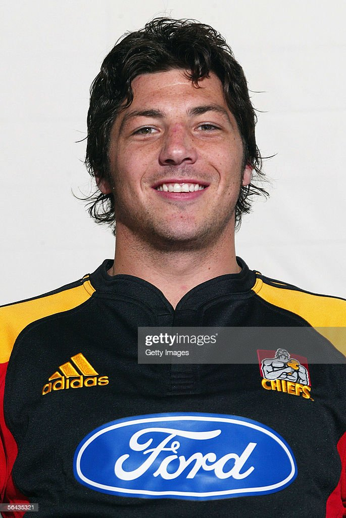 Byron Kelleher of the Waikato Chiefs poses during a team portrait session December 12, 2005 in Hamilton, New Zealand.