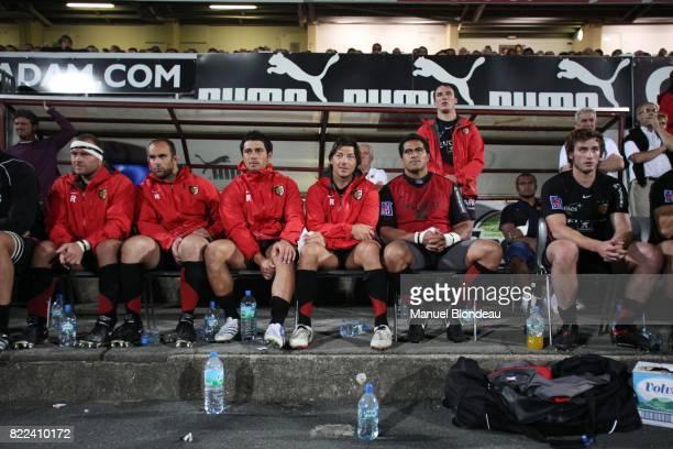 Byron KELLEHER / Yann DAVID / Louis PICAMOLES / Maxime MEDARD Biarritz / Toulouse Match Amical