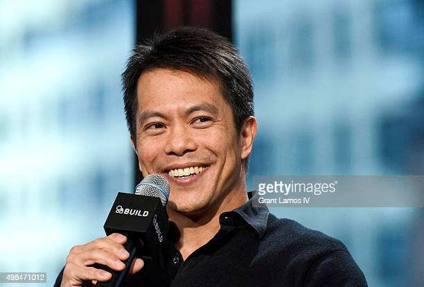 Byron Mann visits AOL Studios on November 23 2015 in New York City