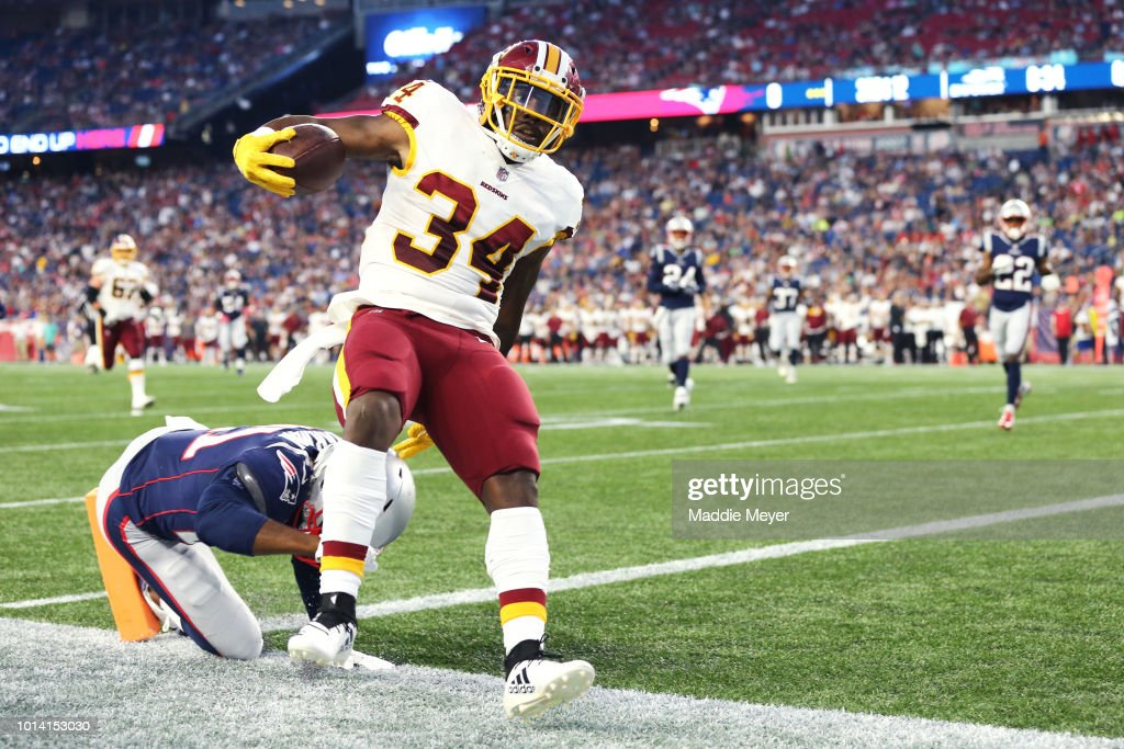 Washington Redskins v New England Patriots : News Photo