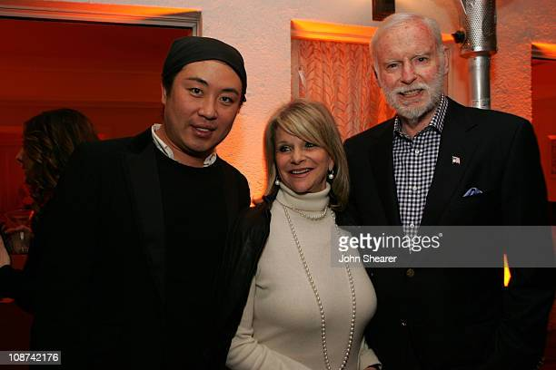 Byron Williams Judy Feder and Leonard Goldberg during Byron Williams Celebrates the Launch of His New Product Line Byron by Byron Williams at Chateau...
