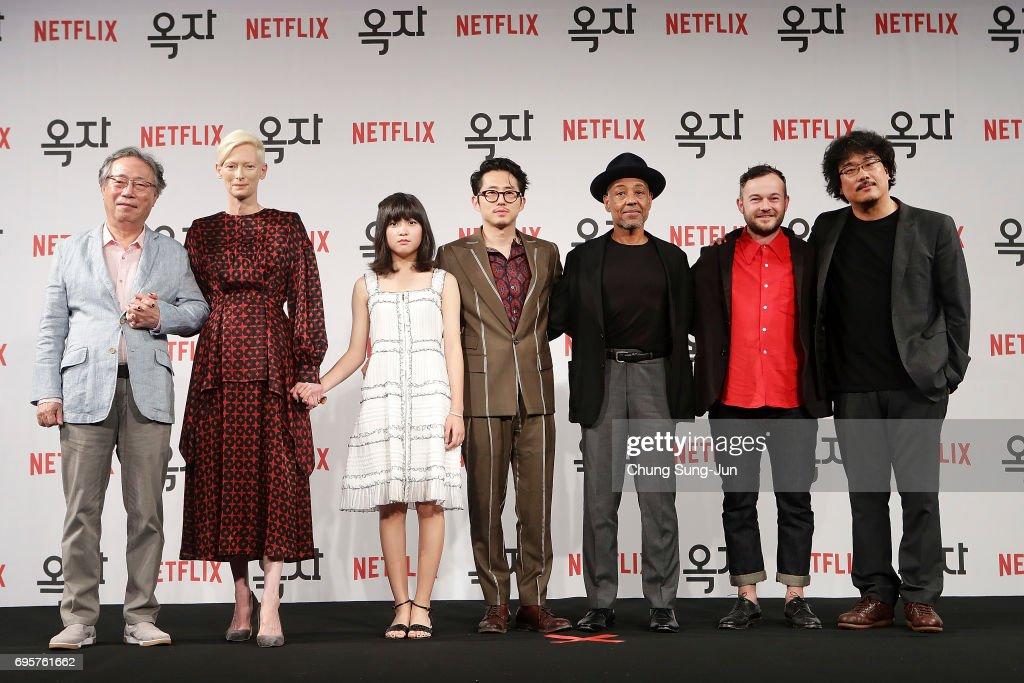 """""""Okja"""" Korea Press Conference"""