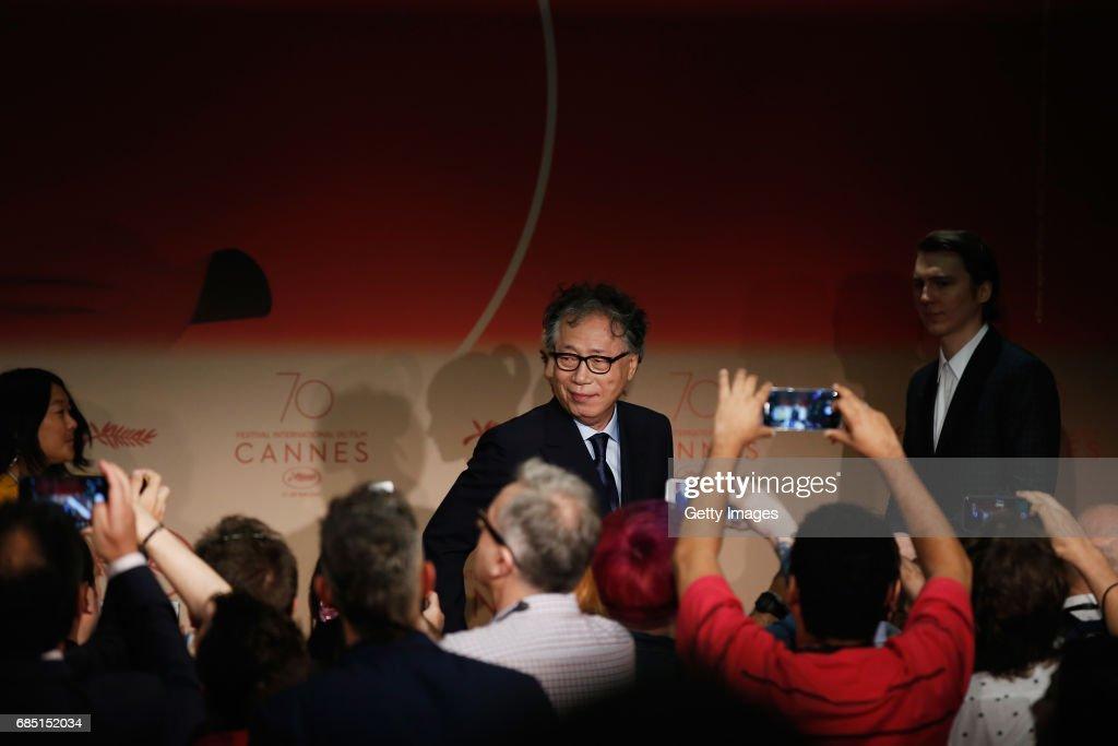 """Okja"" Press Conference - The 70th Annual Cannes Film Festival"