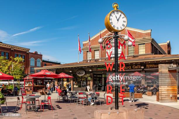 byward market in ottawa - ottawa stock pictures, royalty-free photos & images