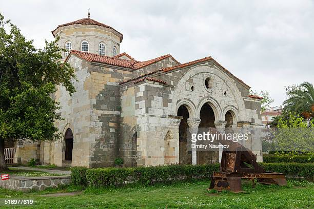 byzantine church of hagia sophia in  trabzon, turk - trabzon stock photos and pictures