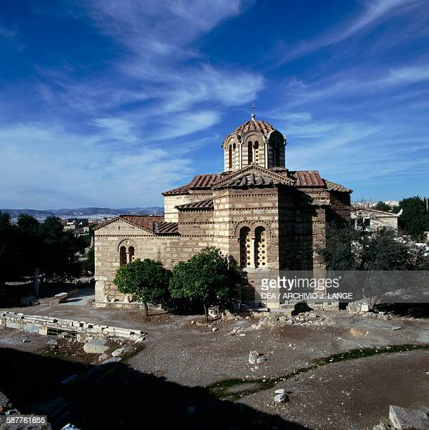 Byzantine church of the Holy Apostles in the Agora of Athens Greece 10th century