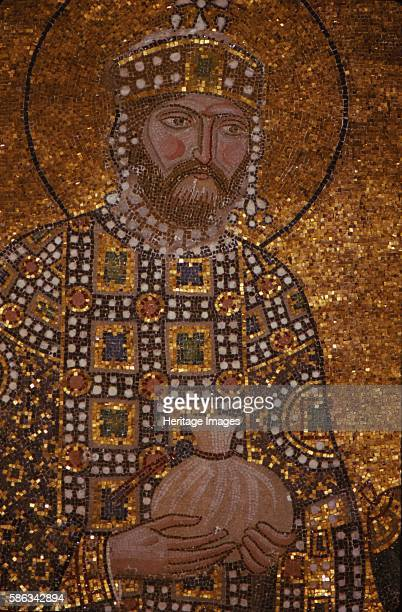 Byzantine Emperor Constantine IX Monomachos St Sophia Istanbul 20th century Byzantine emperor from June 11 1042 to January 11 1055 Chosen by Empress...