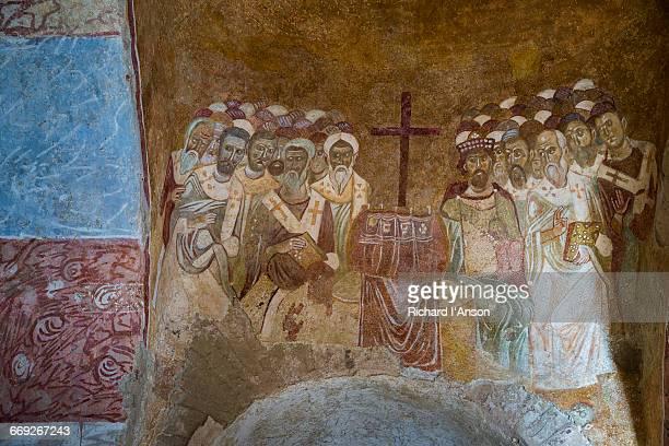Byzantine frescoes in Church of St Nicholas