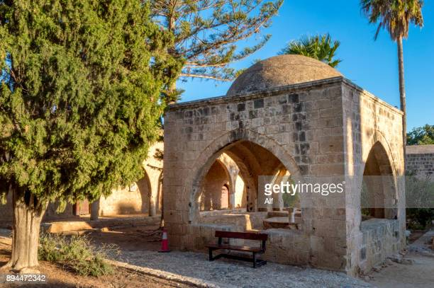 byzantine monastery of ayia napa in agia napa, cyprus - apse stock photos and pictures