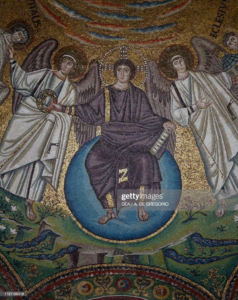 Basilica of San Vitale, Ravenna : News Photo