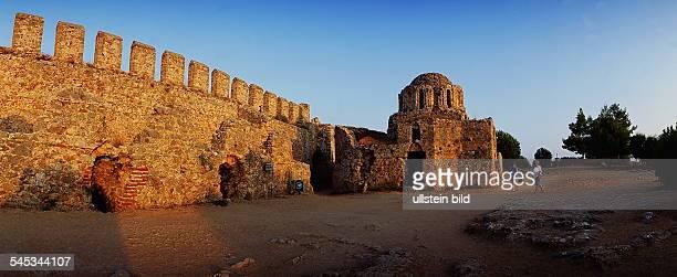 Byzantinische Kapelle in derFestungsanlage von Alanya 9oer Jahre