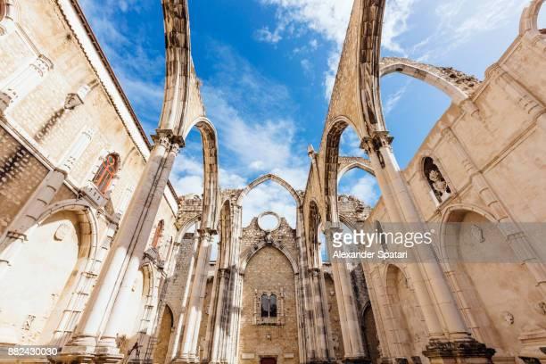 c church ruins in Lisbon, Portugal
