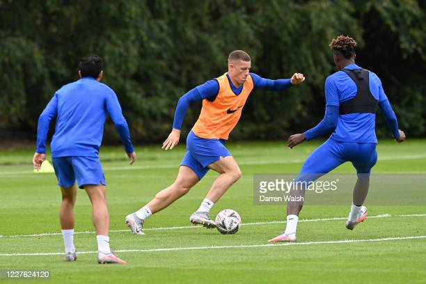 c of Chelsea during a training session at Chelsea Training Ground on July 16 2020 in Cobham England