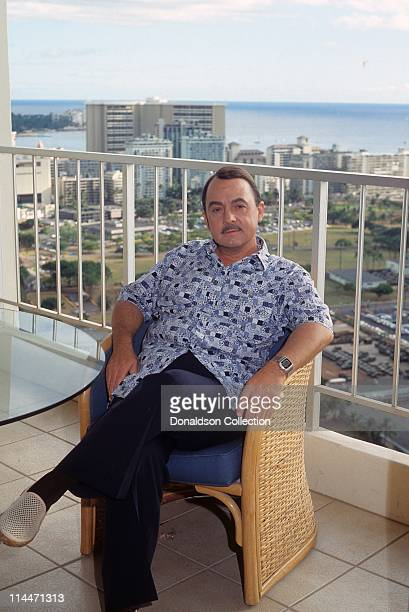 Actor John Hillerman poses for a portrait in circa1982 in Honolulu Hawaii