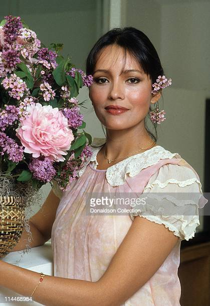 Actress Barbara Carrera poses for a portrait in c.1985 in Los Angeles, California.