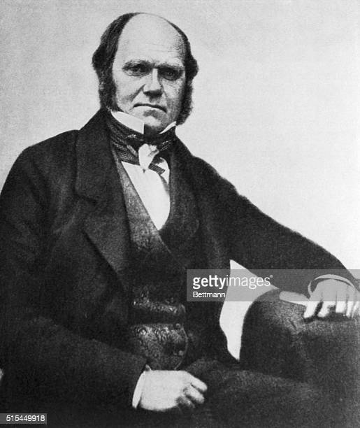 Ca 1855Portrait of Charles Robert Darwin the great naturalist
