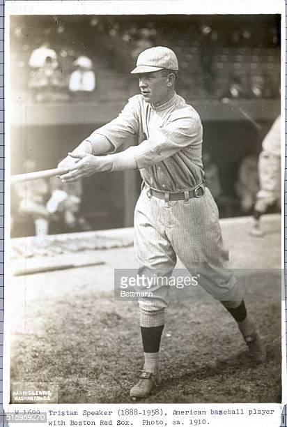 Ca 1910Tristam Speaker American baseball player with Boston Red Sox