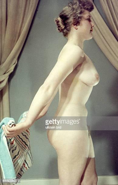 GER ca 1950 Nackte Frau