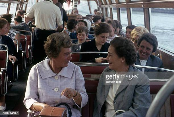 GER ca 1958 Bootsfahrt Vaporetto Venedig