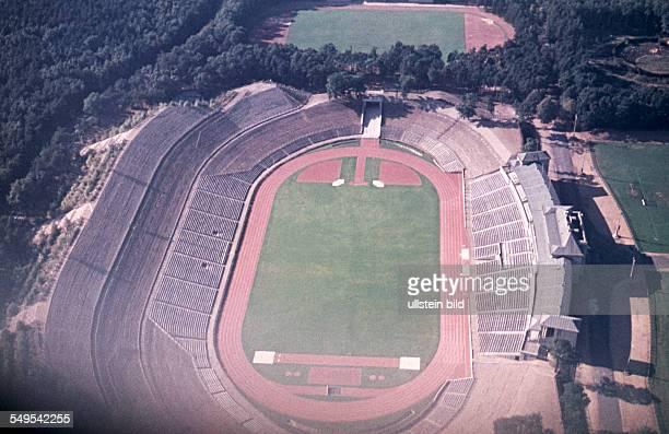 GER ca 1958 Sportstadion In Frankfurt