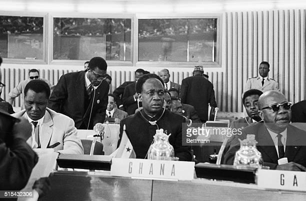 Ca. 1963- President Kwame Nkrumah of Ghana.