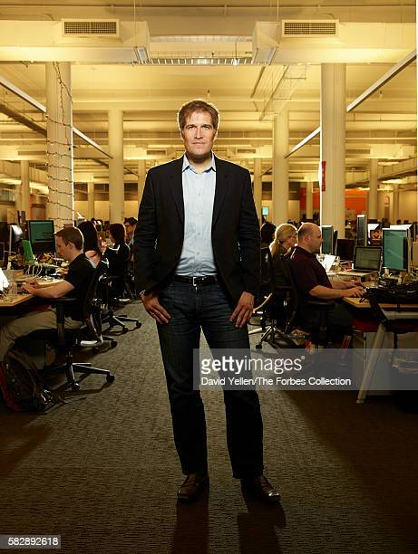AppNexus CEO Brian O'Kelley at the company's Manhattan offices