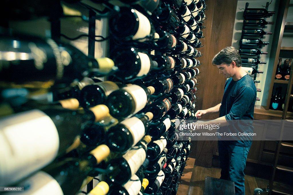 Jeff Gordon at home in Charlotte, North Carolina, USA  The