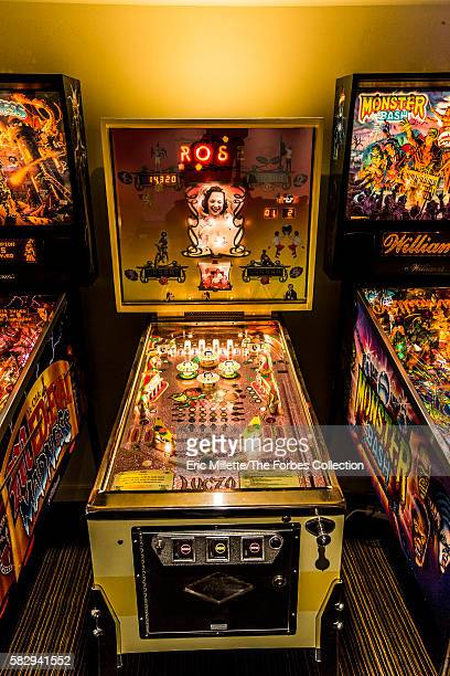 Luczo's collection includes pinball machines from his youth as well as the late `80's and `90's including Medieval Madness featuring the voice of...