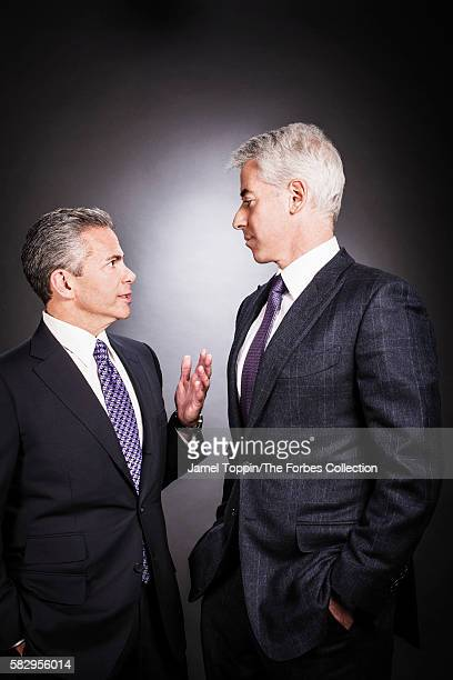Bill Ackman chairman of Howard Hughes Corp with its chief executive David Weinreb