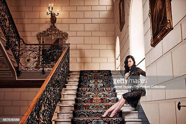 Katy Perry in The St Regis Rome Styled by Joseph DeAcetis with Emanuela Fontana makeup by Todd Delano and hair by Clyde Haygood Black with golden...
