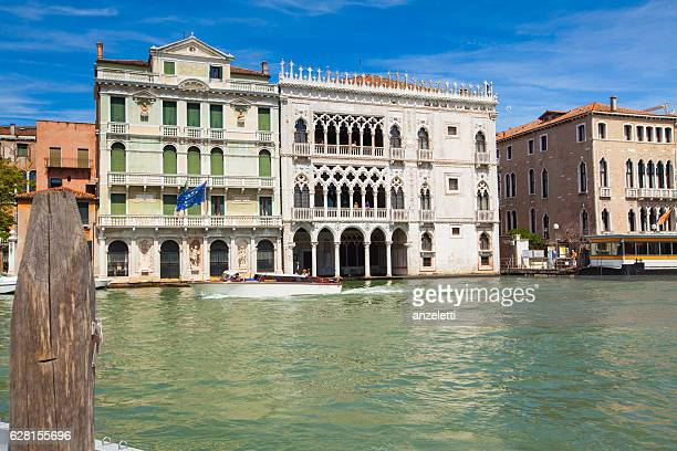 Ca' d'Oro palace and other Palaces on Grand Canal, Venice