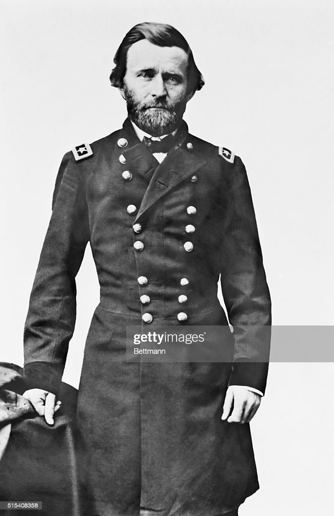 Ulysses S. Grant in Uniform : News Photo