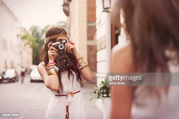 Caapturing memories of boho girls. Krakow, Poland
