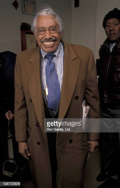 Cab Calloway during Tribute To Ella Fitzgerald Febuary 12 1990 at Lincoln Center in New York City New York United States