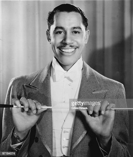 Cab Calloway poses for a studio portrait in 1932 in the United States