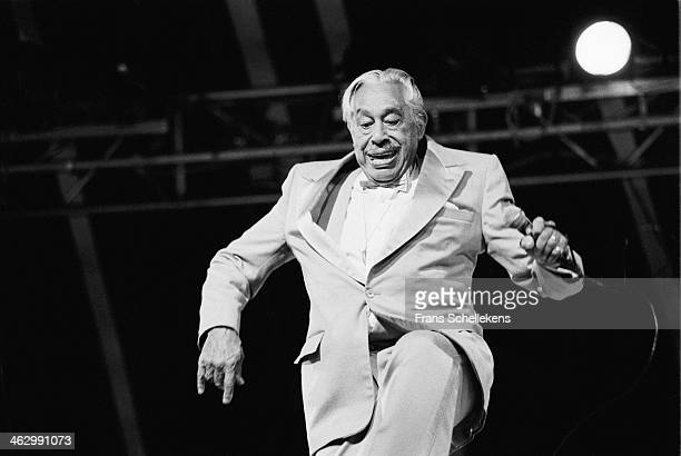 Cab Calloway vocal performs at the North Sea Jazz Festival in the Hague the Netherlands on 12 July 1990