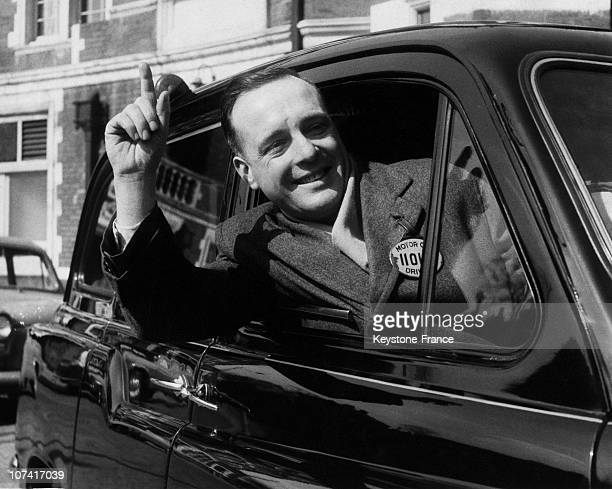 Cab Driver In London On March 24Th 1961
