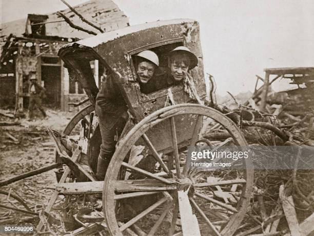 Cab sir' Found in a captured village' France World War I 1916 During the Battle of the Somme Artist Unknown