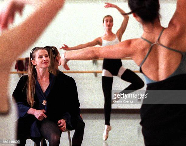 Ballerina.Close.0413.GKBallerina Darci Kistler , while teaching a ballet class to UCI students. At UC Irvine. The New York City Ballet member was a...