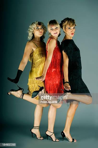 Cabaret dancing girls