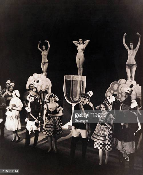 Cabaret in Berlin in the late 1920's with burlesque bit