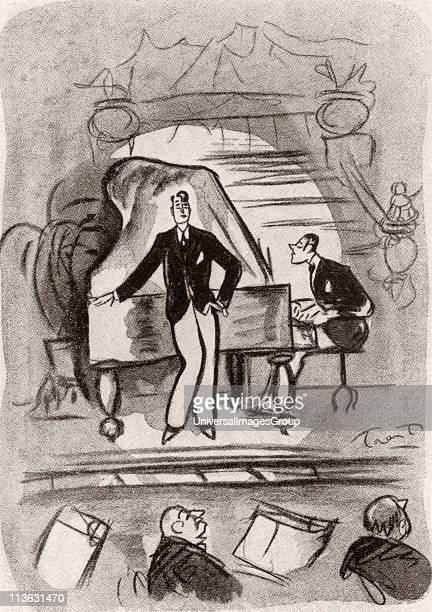 Cabaret in Montparnasse Paris France in the 1920's After the drawing by Trent from the book Back to Montparnasse by Sisley Huddleston published 1931