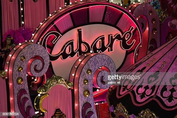 Cabaret pink sign