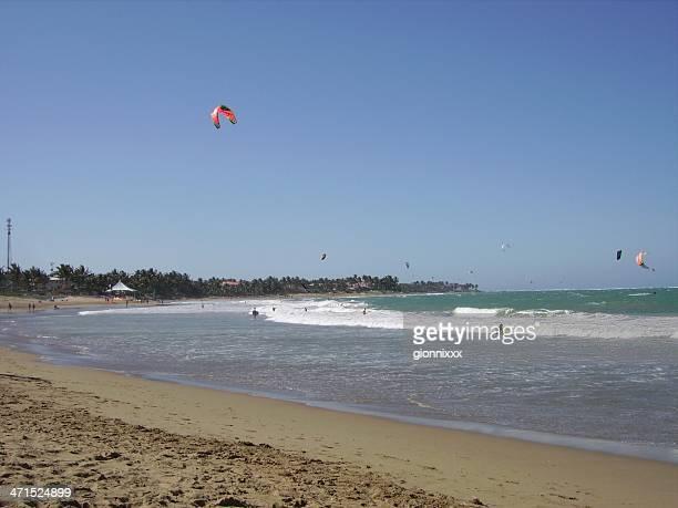 cabarete, république dominicaine - triangle des bermudes photos et images de collection