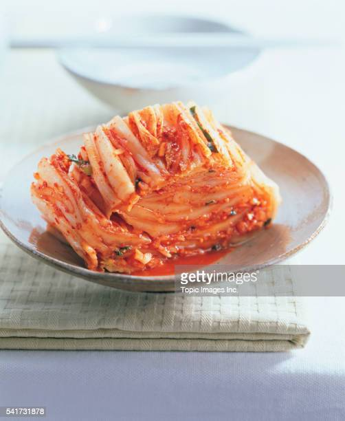Cabbage Kimchi, Korean Food