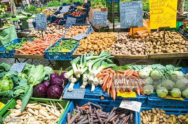 キャベツ、コールラビおよび根本野菜