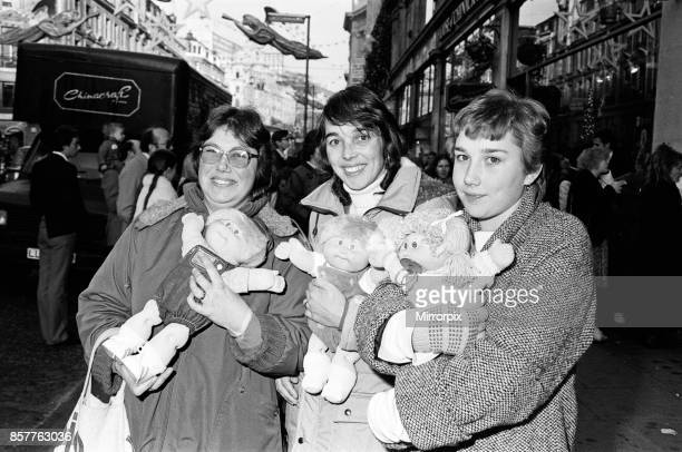 Cabbage Patch Dolls at Hamleys top London toy store Hundreds of people clamoured for the dolls when the store opened at 900 this morning Saturday The...