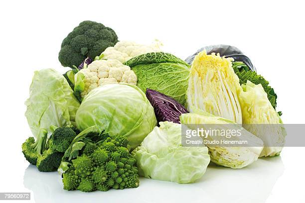 cabbages, close-up - cabbage stock pictures, royalty-free photos & images