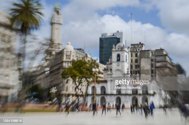 cabildo (town hall), buenos aires, capital federal, argentina - radicella stock pictures, royalty-free photos & images